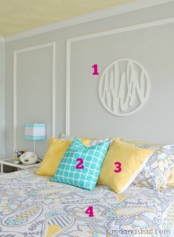 Teen Room Makeover Source List