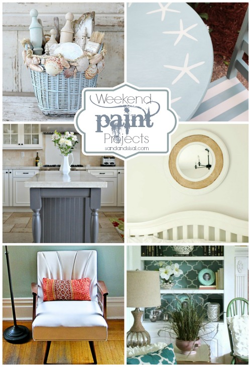 6 Weekend Paint Projects