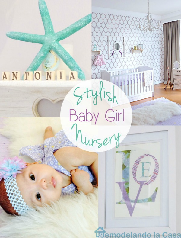 Baby girl nursery Reveal