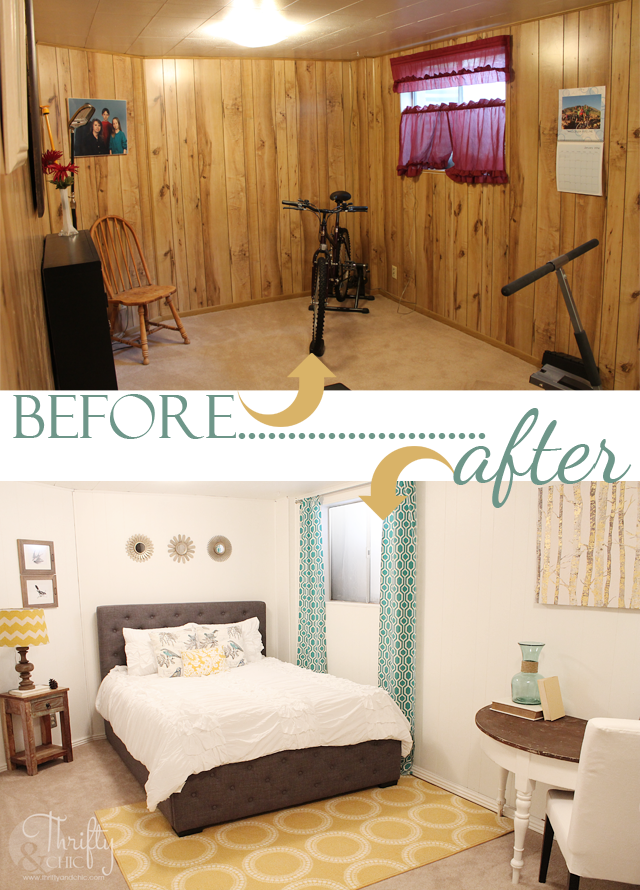 Painting Wood Paneling: 7 Stunning Room Reveals + Makeovers