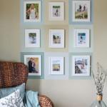 Color Block Gallery Wall