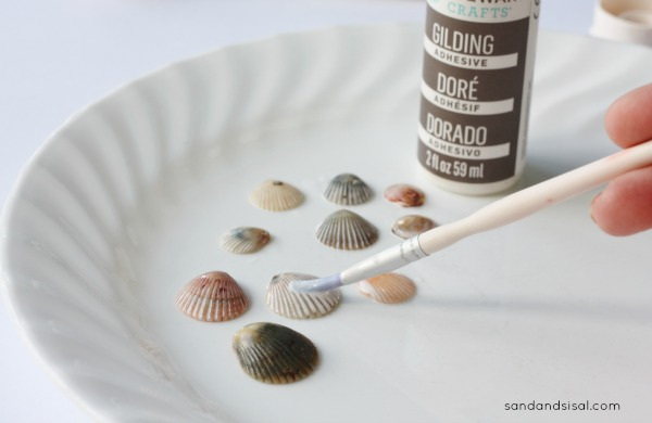 Gilding Sea Shells