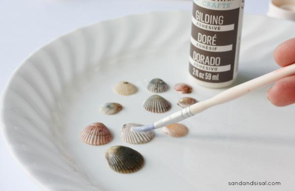 Gilding Sea Shells