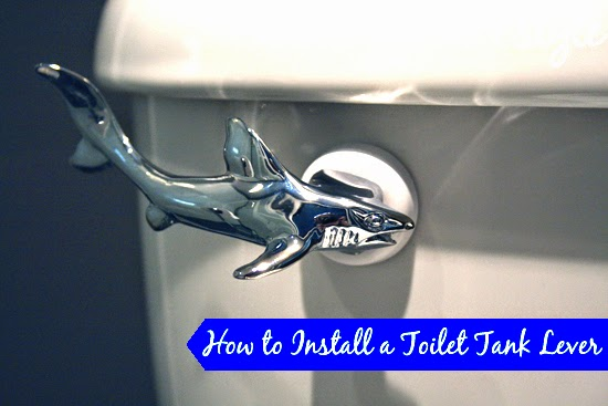 How To Install A Shark Toilet Tank Lever