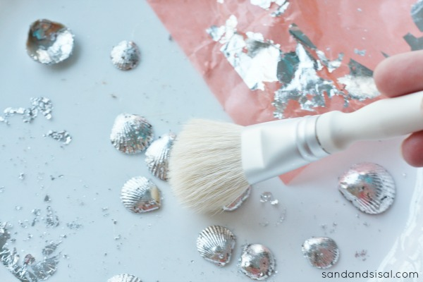 How to Gild Seashells