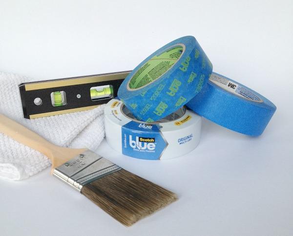 Project Supplies #HomeofScotchBlue  #3MPartner