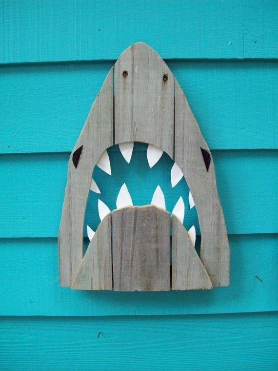 20+ Shark Week Projects - Sand and Sisal