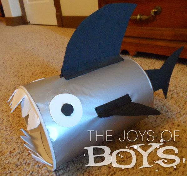 Shark Valentine Boxes