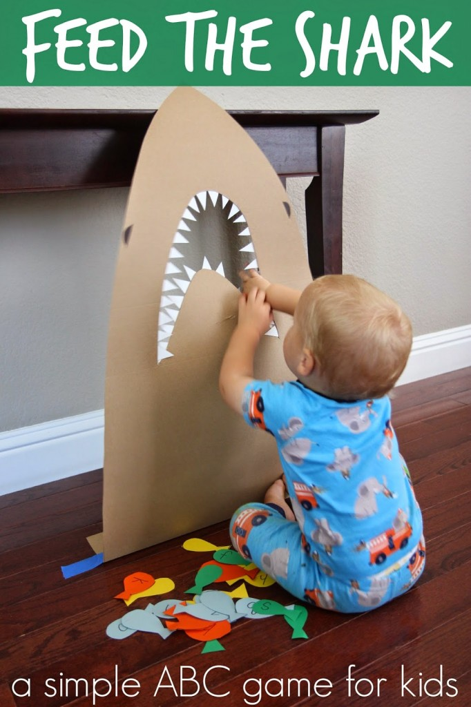 feed the shark Alphabet game