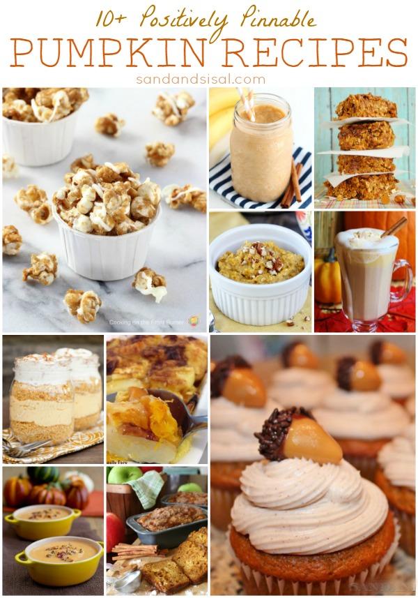 10+ Positively Pinnable Pumpkin Recipes