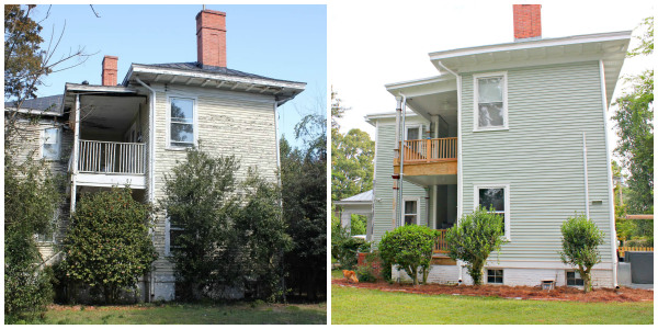 1902 Historic Home Exterior Makeover