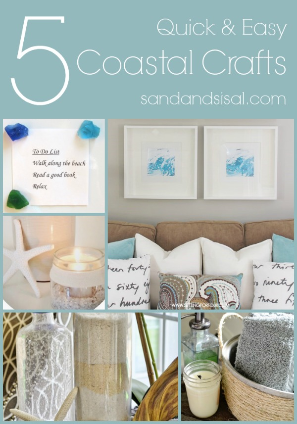 5 Quick & Easy Coastal Crafts