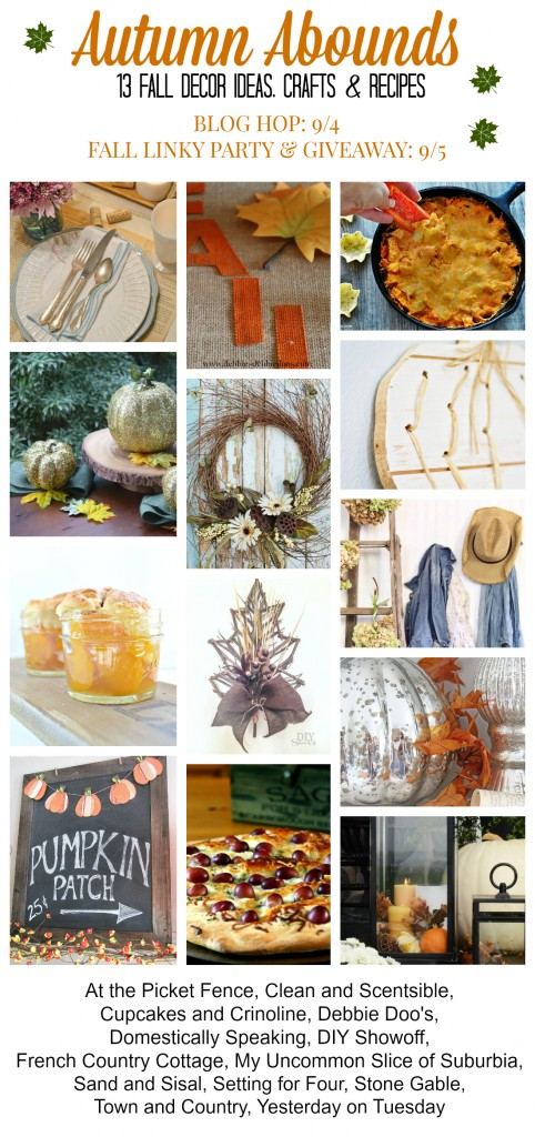 Autumn Abounds Fall Blog Hop 2014