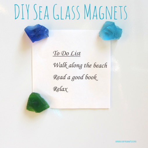 DIY-Sea-Glass-Magnets