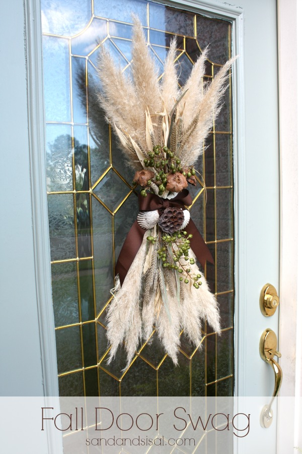 Early Fall Wreath Tutorial Sand And Sisal