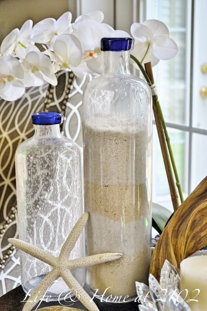 Layered Sand Bottle