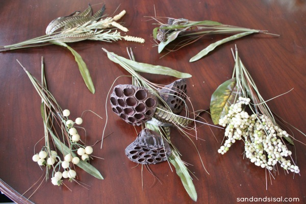 Make a fall wreath
