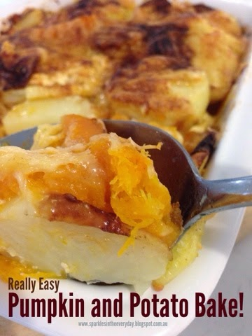 Pumpkin and Potato Bake