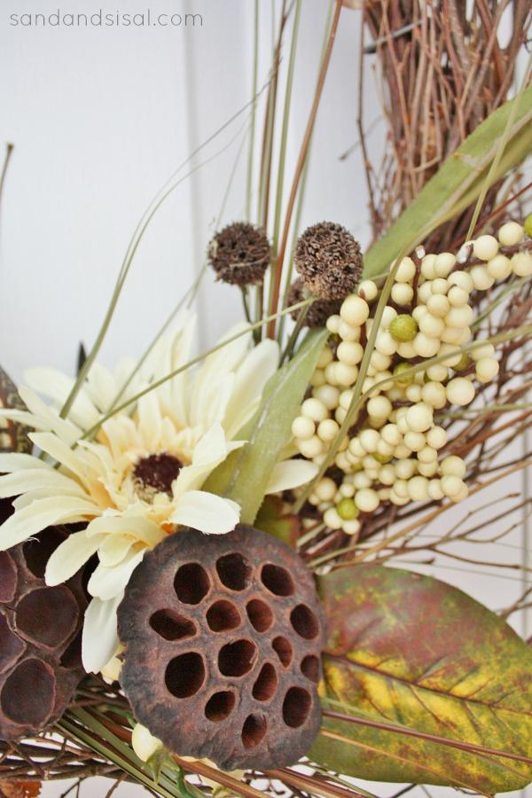 Transitional Fall Wreath