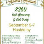 Autumn Abounds Linky + Cash Giveaway