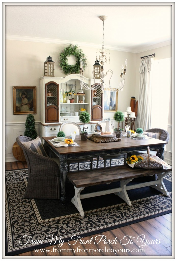 Farm House dining room reveal