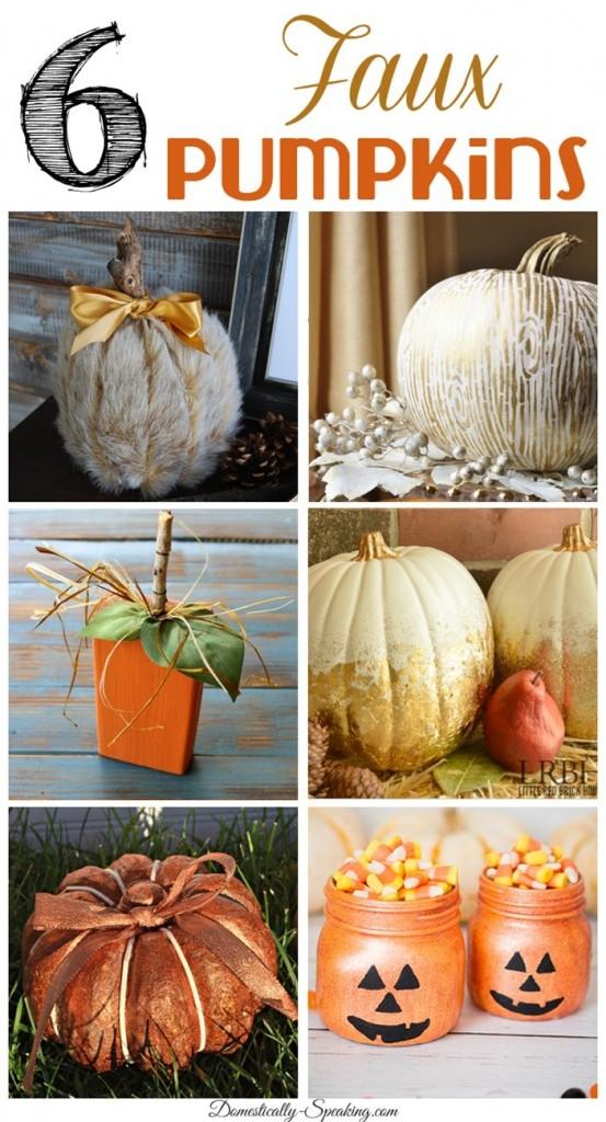 6-Faux-Pumpkins