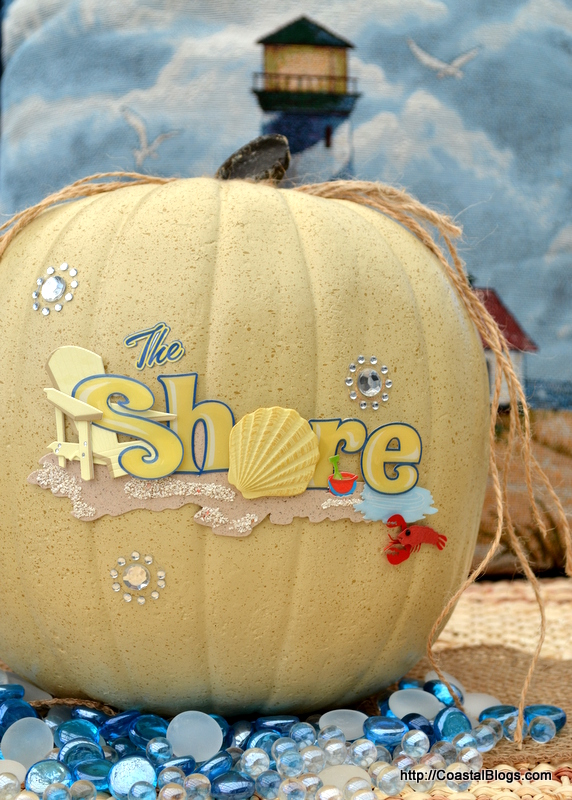 Beach House Pumpkin