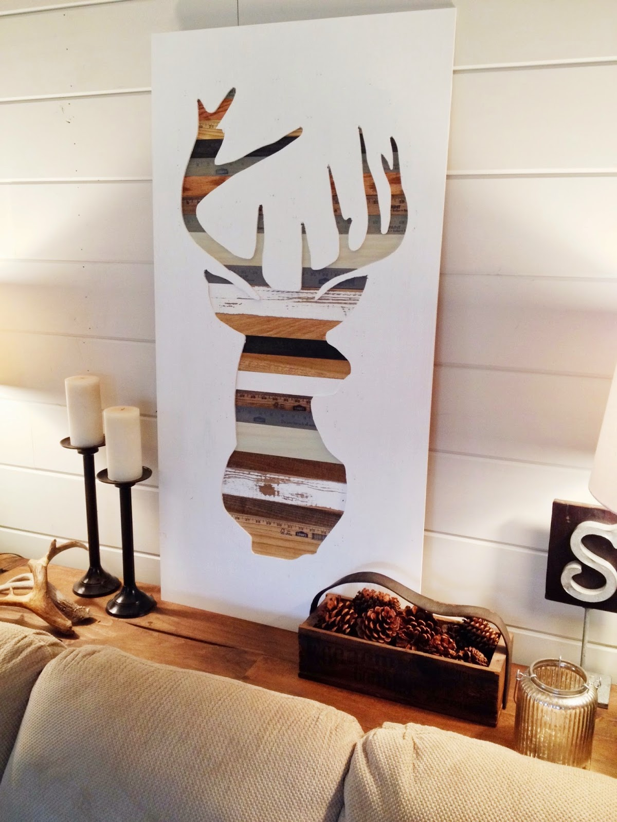 Wooden Wall Decor Diy : Diy wood wall art projects page of sand and sisal