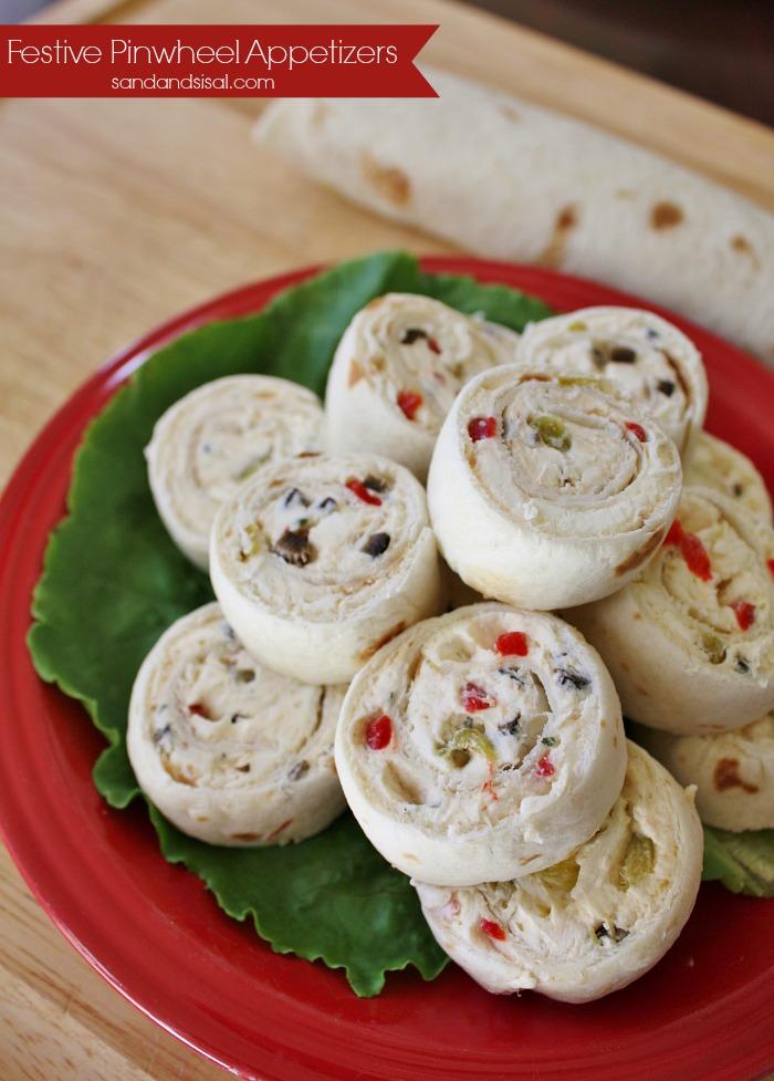 Festive Pinwheel Appetizers