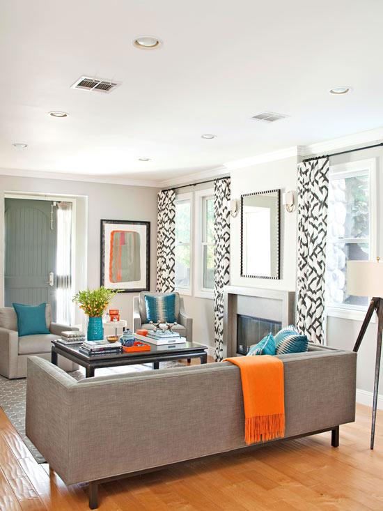 Gray Livingroom