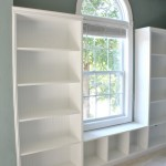 How to Build Built-in Bookshelves