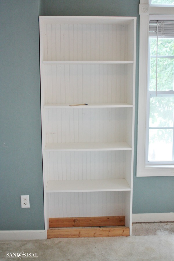 Level and Secure Bookshelf to wall
