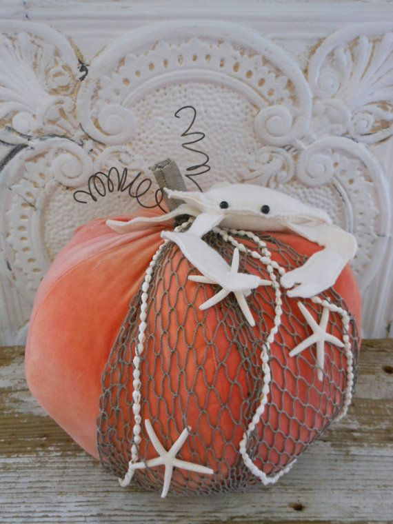 Plush Coastal Pumpkin
