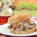 Pulled Pork BBQ with Creamy Coleslaw
