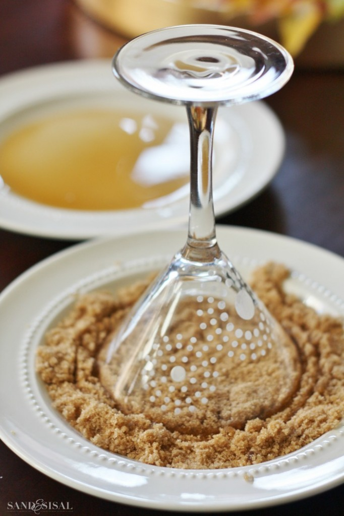 Pumpkin Pie Martini - Rim the glass with brown sugar and Pumpkin pie ...