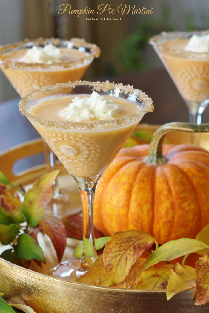 Pumpkin Pie Martini Sand And Sisal