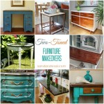 Two Toned Furniture Makeovers