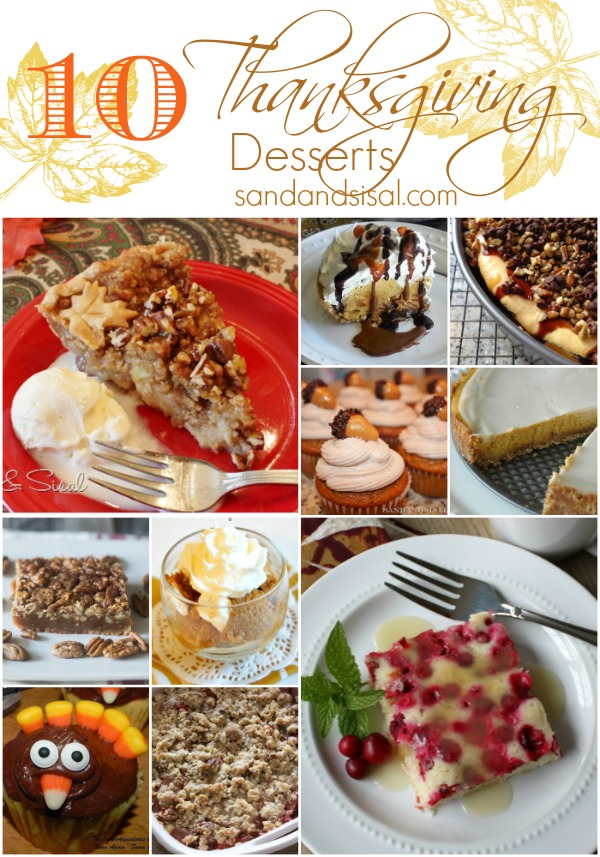 10 Thanksgiving Desserts
