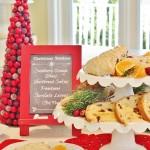 Cranberry Orange Scones in the Coastal Christmas Kitchen