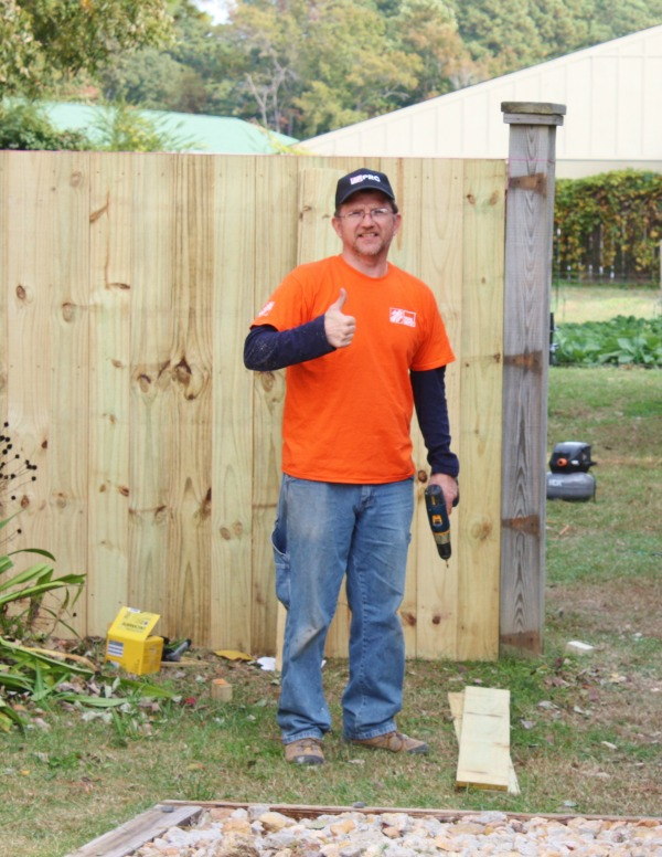 Fence Building with Team Depot