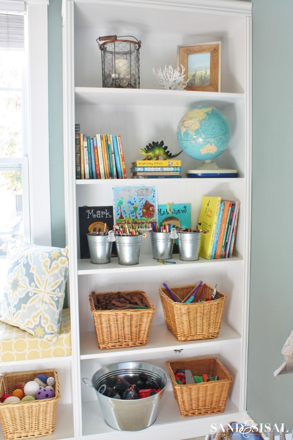 Organizing a Playroom - Storage Ideas
