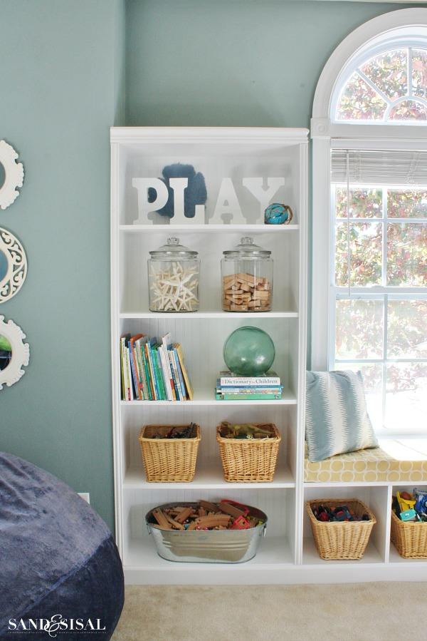 Playroom Storage Ideas - Decorating DIY Built-ins
