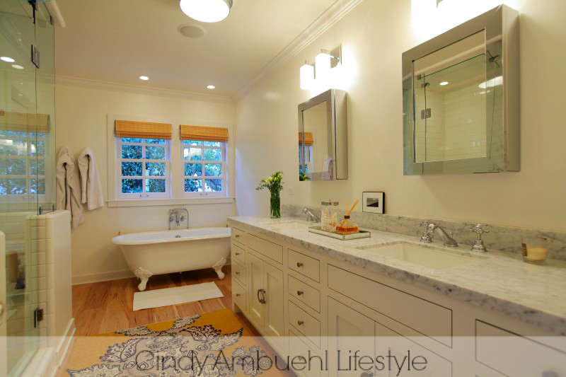 Glamorous Bathroom Ideas - luxury and celebrity home tours