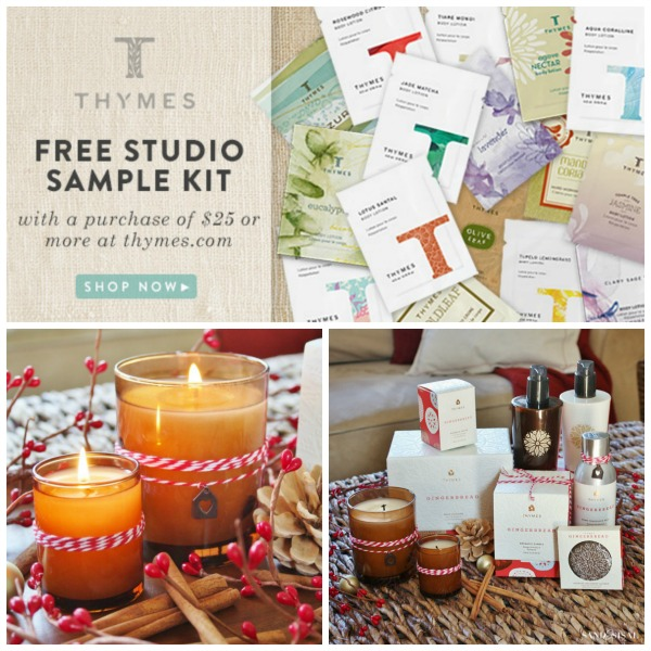 Thymes Free Studio Sample Kit (18 Fragrances)