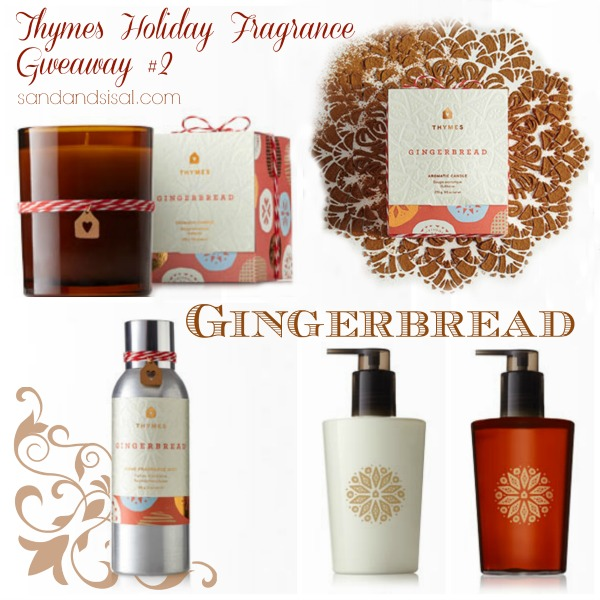 Thymes Holiday Fragrance Giveaway #2