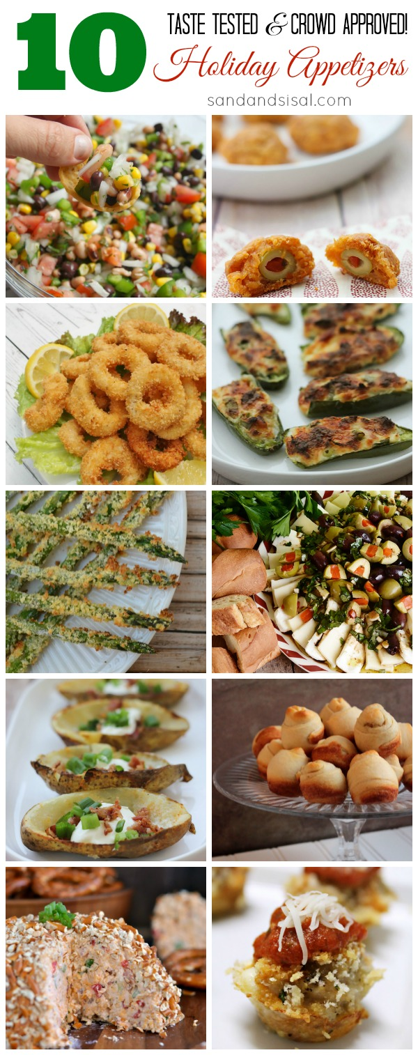 10+ Holiday Appetizers