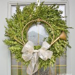 Boxwood Wreath - Christmas Home Tour