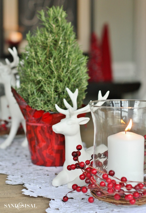 Coastal Christmas Home Tour Part Sand And Sisal