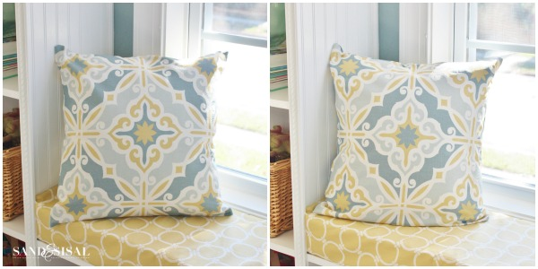 DIY Pillow Covers - Premier Prints Harford Saffron Macon Fabric