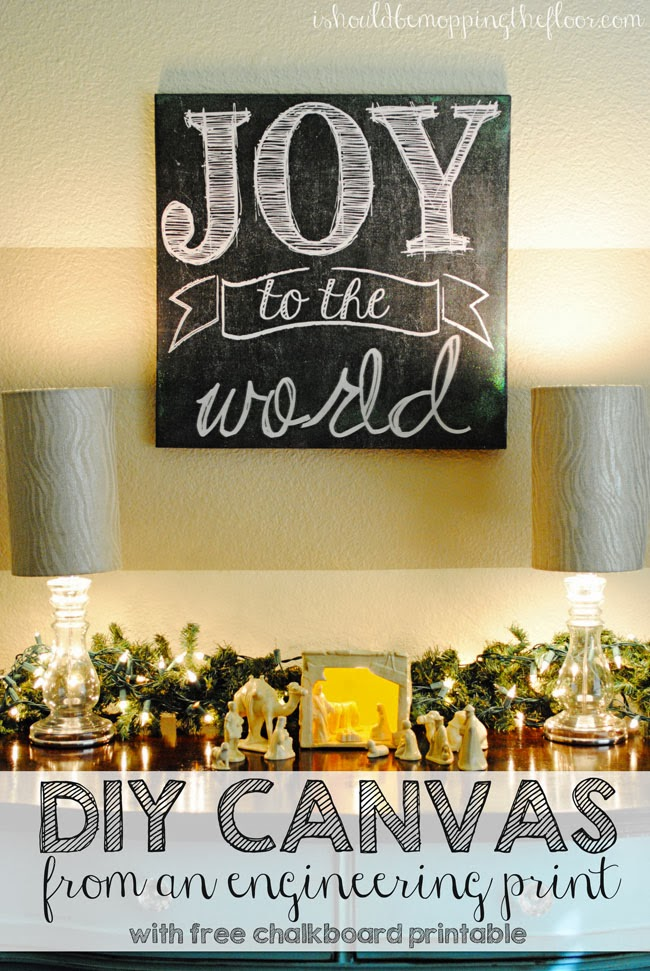 8 DIY Christmas Wall Art Projects - Sand and Sisal